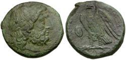 Ancient Coins - Ptolemaic Kings of Egypt. Ptolemy II Philadelphos Æ27 / Eagle