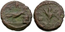 Ancient Coins - Troas. Alexandria Troas. Pseudo-autonomous Æ11 / Raven & Altar