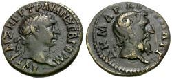 Ancient Coins - Trajan (AD 98-117). Cyrenaica. Cyrene AR Hemidrachm / Zeus Ammon