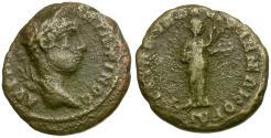 Ancient Coins - Elagabalus. Thrace. Philippopolis Æ18 / Hygeia Feeding Snake