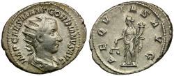 Ancient Coins - Gordian III (AD 238-244) AR Antoninianus / Aequitas