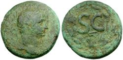 Ancient Coins - Trajan. Seleucis and Pieria. Antioch Æ26 / Wreath