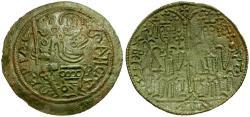 World Coins - Hungary. Bela III Æ Bracteat Follis