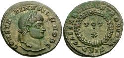Ancient Coins - Constantine II, as Caesar (AD 317-337) Æ3 / Votive