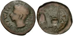 Ancient Coins - Augustus (27 BC-AD 14). Spain. Colonia Patricia (Corduba) Æ Semis