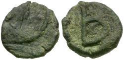 Ancient Coins - *Sear 277* Byzantine Empire. Justinian I Æ 2 Nummi / B