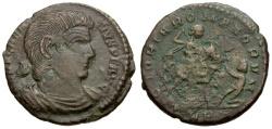 Ancient Coins - Magnentius Æ Centenionalis / Magnentius on Horseback