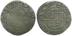 World Coins - England. Tudor. Elizabeth I (1558-1603) AR Threepence