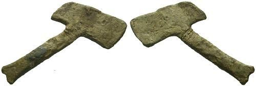 Ancient Coins - Celtic Votive Axe
