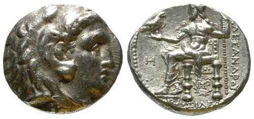 Ancient Coins - VF/VF Seleukos I Tetradrachm