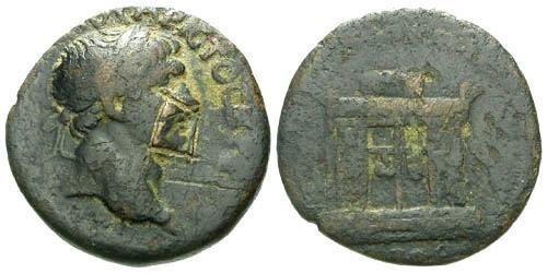 Ancient Coins - F/F Trajan AE Provincial bronze Damnatio