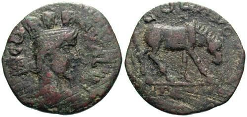 Ancient Coins - aF/gF AE23 of Troas