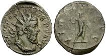 Ancient Coins - Postumus AR Antoninianus / Virtus