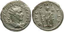 Ancient Coins - Philip I AR Antoninianus / Fides