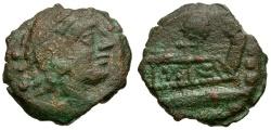 Ancient Coins - 127 BC - Roman Republic. M. Caecilius Q.F. Q.N. Metellus Æ Quadrans