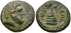 Ancient Coins - Lydia. Nacrasa. Pseudo-autonomous Æ15 / Serpent