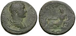 Ancient Coins - Hadrian (AD 117-138). Travel Series Æ AS / Africa
