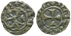 World Coins - Crusaders. Lusignan Kingdom of Cyprus. James I (1382-1398) BI Denier