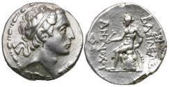 Ancient Coins - Seleukid Kings. Antiochos IV Epiphanes (175-164 BC) AR Tetradrachm