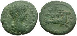 Ancient Coins - Commodus (AD 177-192). Cilicia. Anazarbos Æ16 / Capricorn