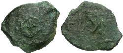 Ancient Coins - Judaea. Herodians. Herod I the Great Æ Two Prutot