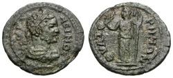Ancient Coins - Caracalla.  Lydia, Thyateira Æ22 / Demeter