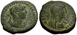Ancient Coins - VF/aVF Hadrian, Syria Decapolis, Arabia, Petra / Tyche