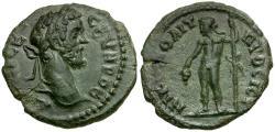 Ancient Coins - Septimius Severus. Moesia Inferior. Nikopolis ad Istrum Æ17 / Dionysos