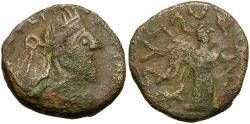 Ancient Coins - Indo-Parthians. Gondopharid Dynasty. Abdagses Æ Tetradrachm / Nike
