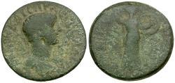 Ancient Coins - Hadrian. Thessaly. Koinon Æ Diassarion / Athena