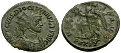 Ancient Coins - VF/gF+ Diocletian Æ Antoninianus / Victory