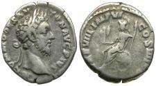 Ancient Coins - Commodus (AD 177-192) AR Denarius / Roma