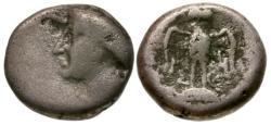 Ancient Coins - F/gF Pontos, Amisos AR Drachm / Hera / Owl