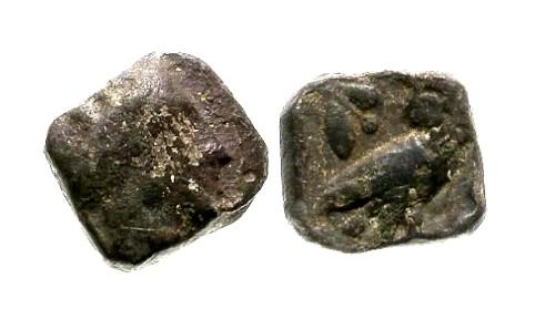 Ancient Coins - VF/F+ Samarian AR Obol / Owl
