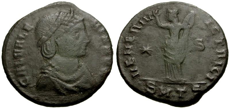 Ancient Coins - Galeria Valeria, Wife of Gallienus Æ Follis / Venus