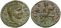 Ancient Coins - Pisidia. Termessos Major. Pseudo-Autonomous Issue Æ25 / Zeus