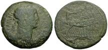 Ancient Coins - Trajan.  Egypt. Alexandria Æ Drachm / Quadriga