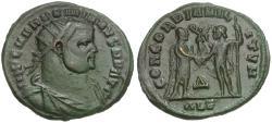 Ancient Coins - Maximianus (AD 286-305) Æ Radiate