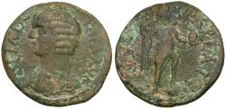 Ancient Coins - Julia Domna (AD 193-211). Pisidia. Parlais Æ22 / Men