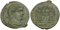 Ancient Coins - Magnentius (AD 350-353) Æ Centenionalis / Two Victories