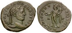 Ancient Coins - Galerius, as Caesar (AD 293-305) Æ Follis / Genius