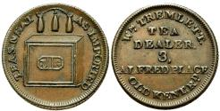 World Coins - England. Middlesex. London. W.Tremlett Æ Farthing