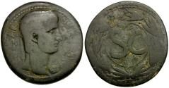 Ancient Coins - Nero. Seleucia & Pieria. Antioch Æ31 / Wreath
