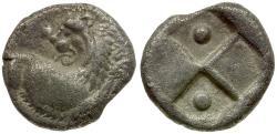 Ancient Coins - Thrace. Chersonesos AR Hemidrachm