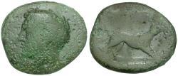 Ancient Coins - Akarnania. Argos Amphilochicon Æ20 / Dog