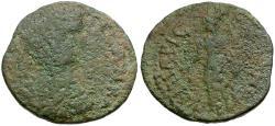 Ancient Coins - Geta. Kyparissia Æ Assarion / Tyche