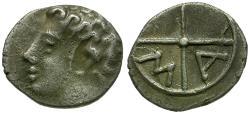 Ancient Coins - Gaul. Massalia AR Obol