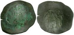 Ancient Coins - *Sear 1985* Byzantine Empire. Andronicus I Billon Trachy