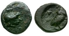 Ancient Coins - Attica. Athens Æ9 / Owl
