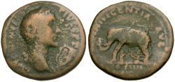 Ancient Coins - Antoninus Pius (AD 138-161) Æ AS / Elephant